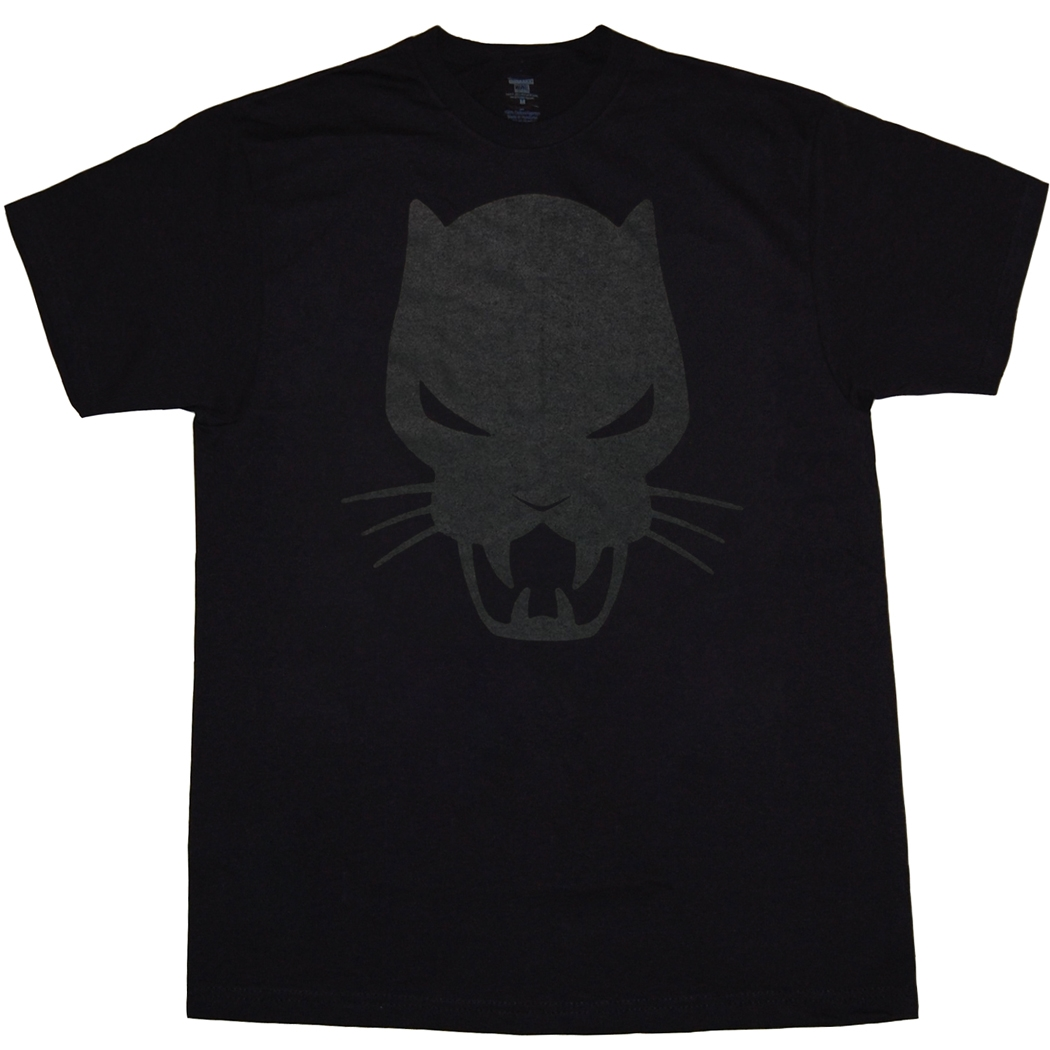 Marvel Comics Black Panther Symbol T-Shirt