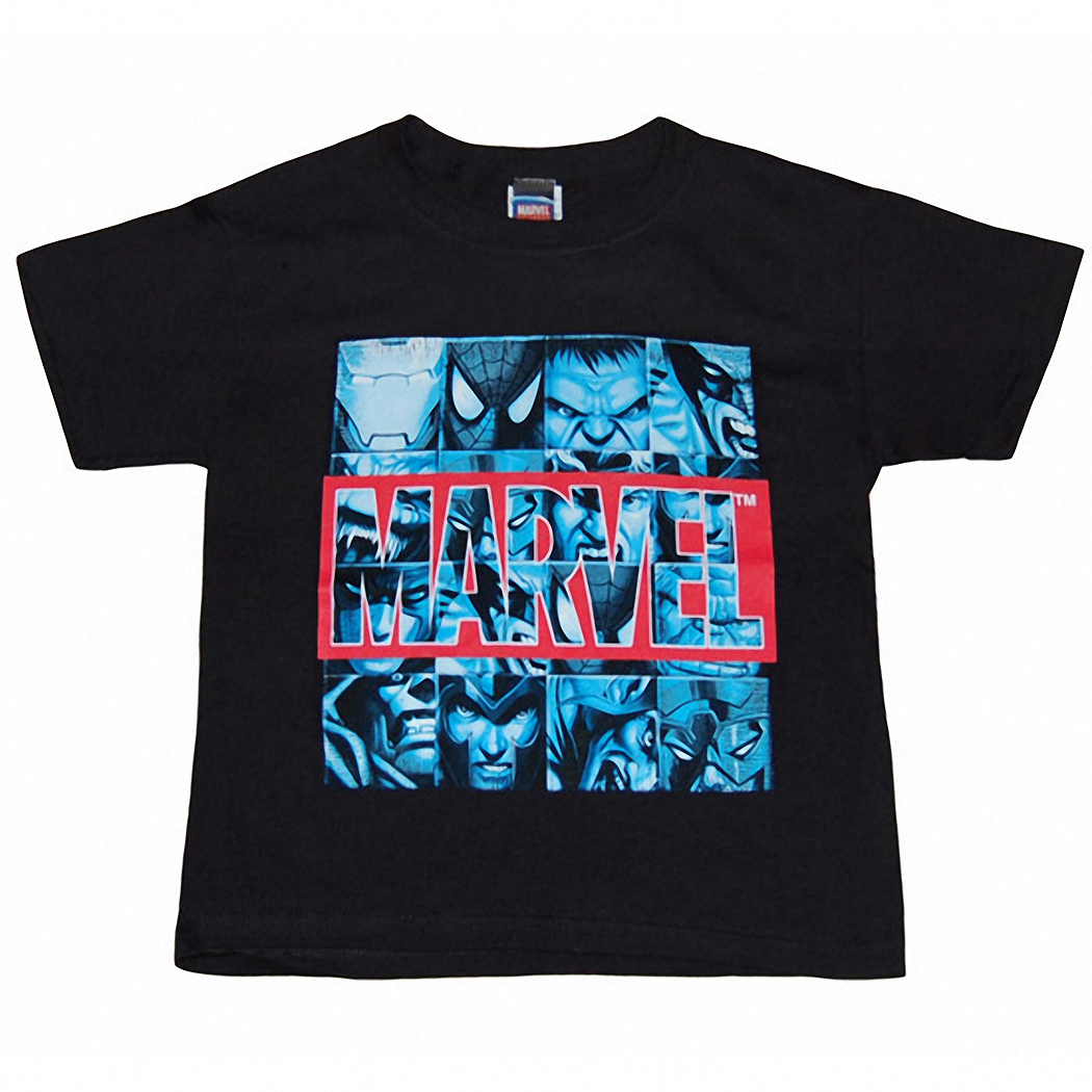 Marvel Squares Youth T-Shirt