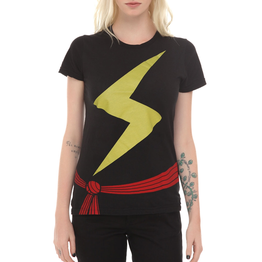 Ms. Marvel Costume Womens T-Shirt