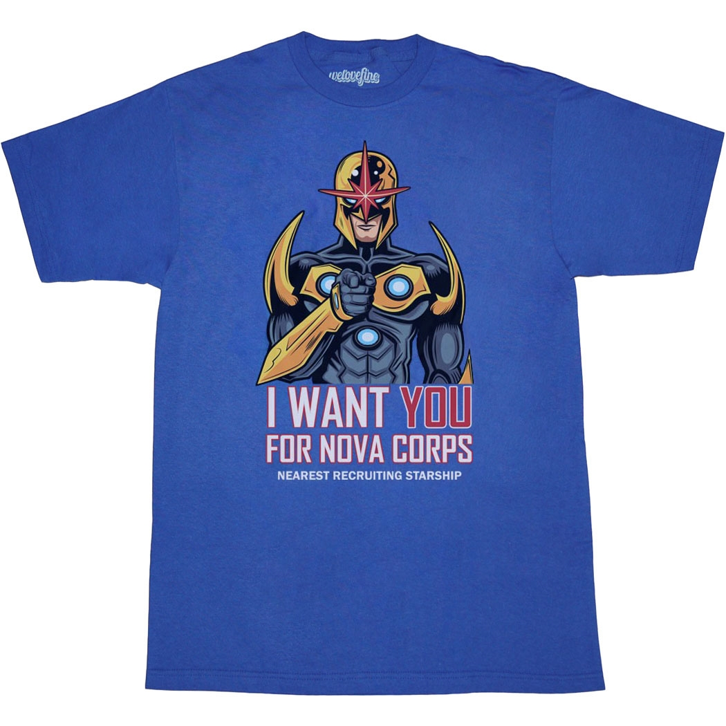I Want You For Nova Corps T-Shirt