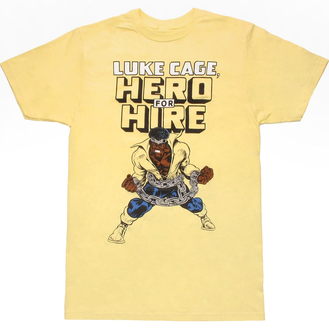 Luke Cage Hero For Hire T-Shirt