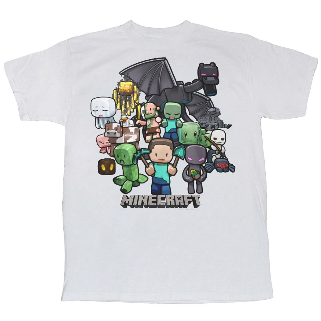 Minecraft Shirts - Minecraft Party Youth T-Shirt by Animation Shops