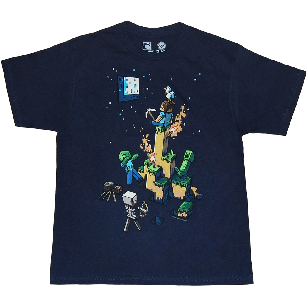 Minecraft Tight Spot Youth T-Shirt