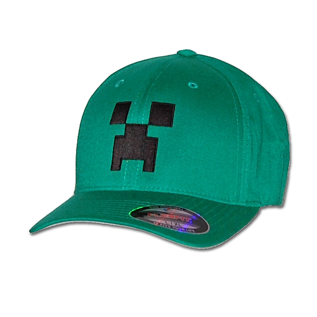 Minecraft Creeper Flexfit Fitted Hat