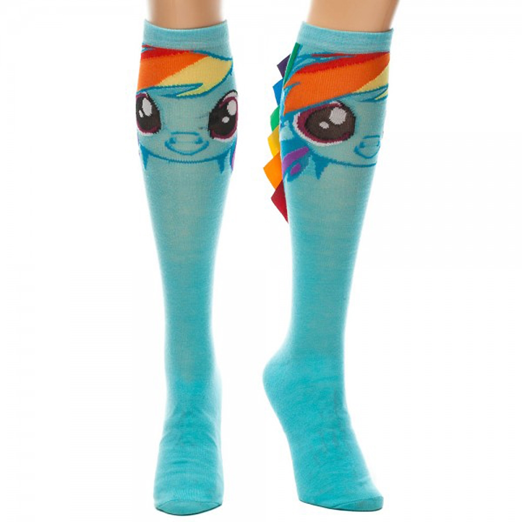My Little Pony Dash Knee with Colorful Mane High Socks