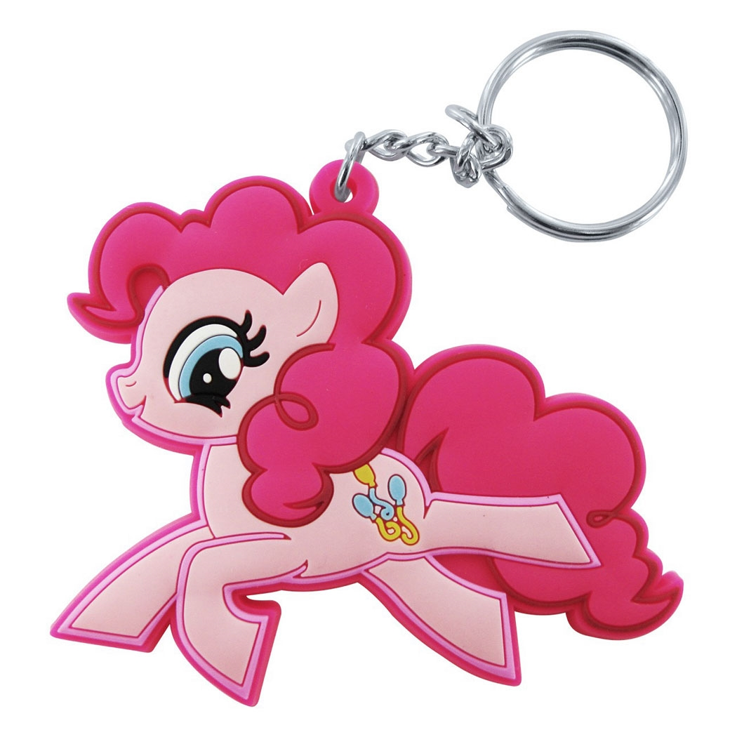 My Little Pony Pinkie Pie Cutie Mark Keychain