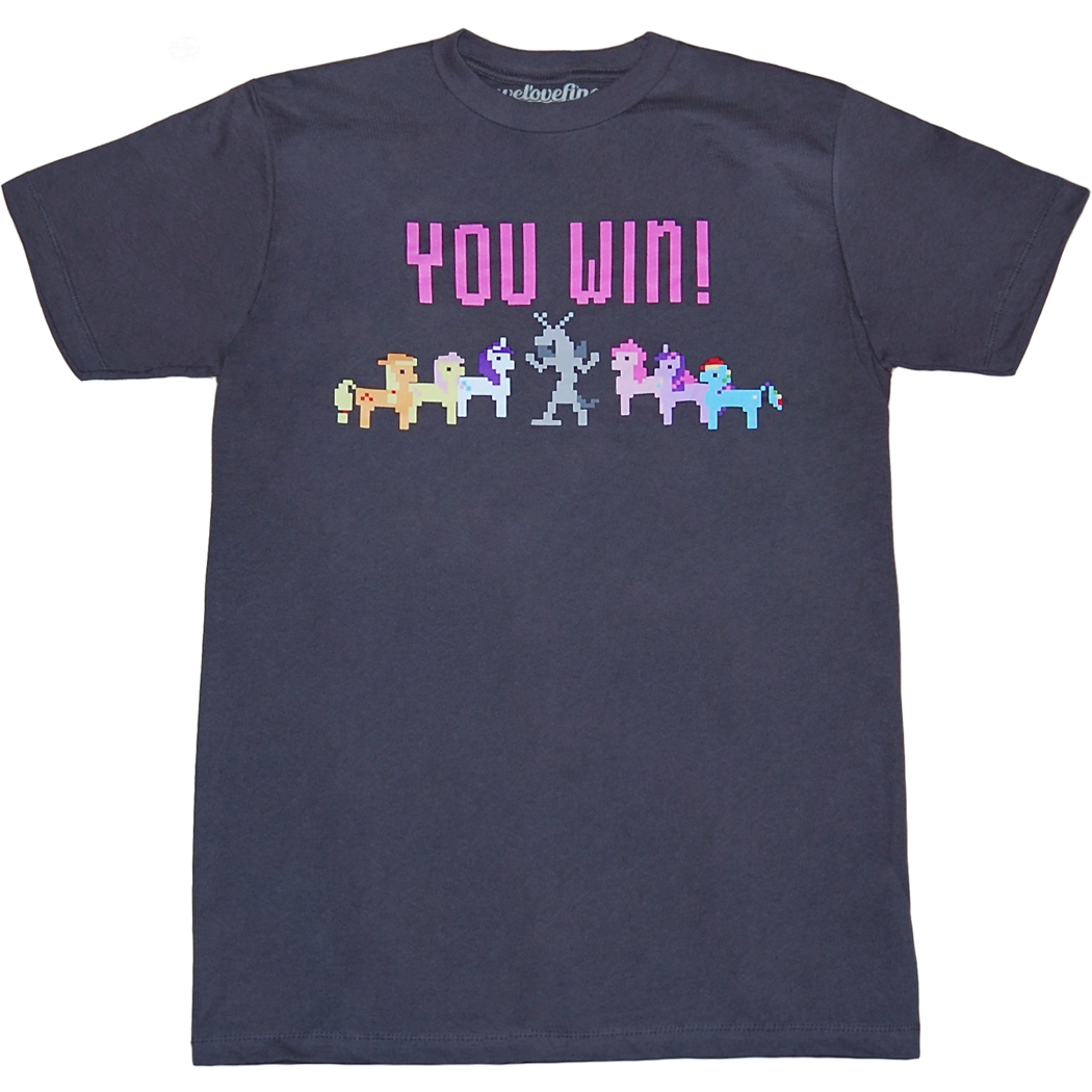 My Little Pony Pixel Ponies Victory T-Shirt