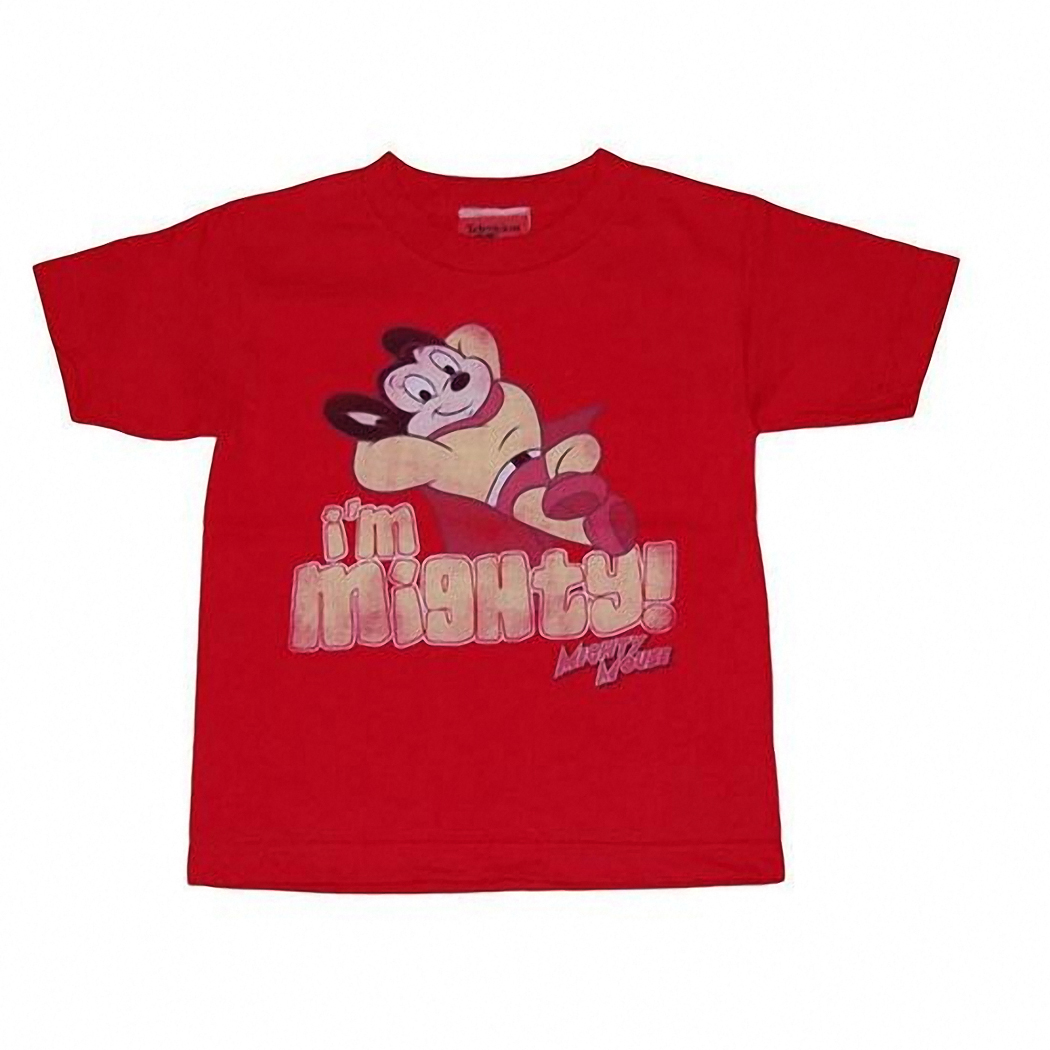 Mighty Mouse I'm Mighty Kids T-Shirt