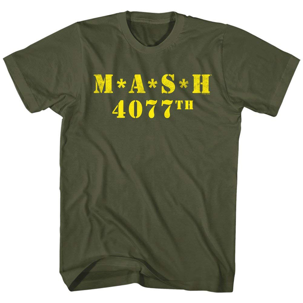 MASH 4077th Logo T-Shirt