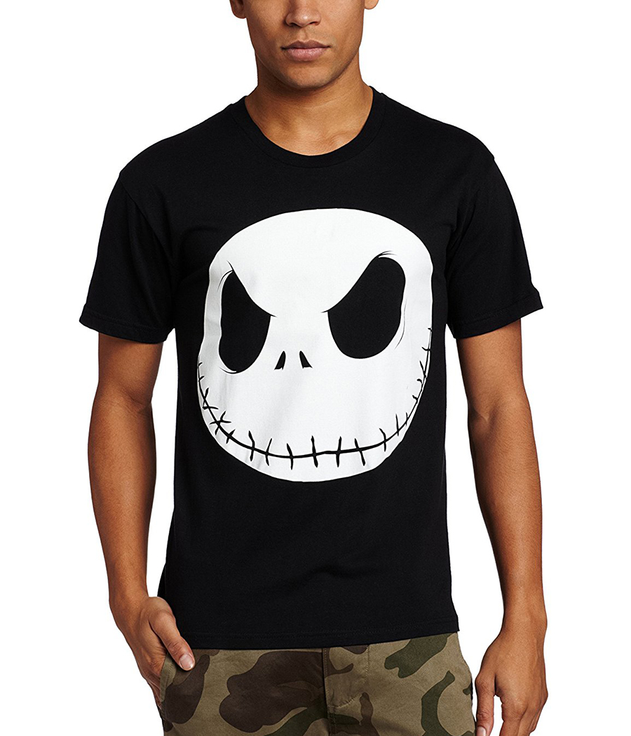 Nightmare Before Christmas Fat Head Jack T-Shirt