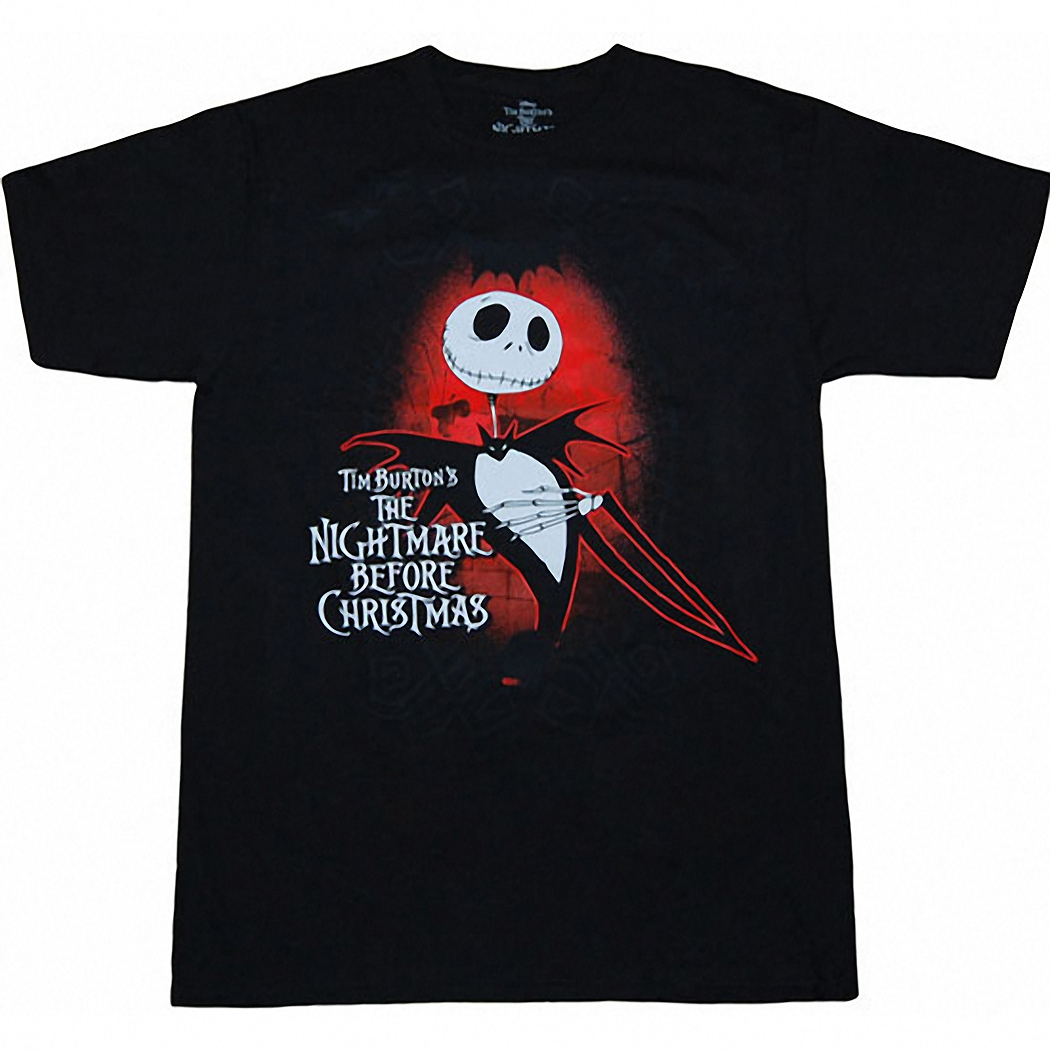 Nightmare Before Christmas Shirts - Jack Dark Love T-Shirt by ...