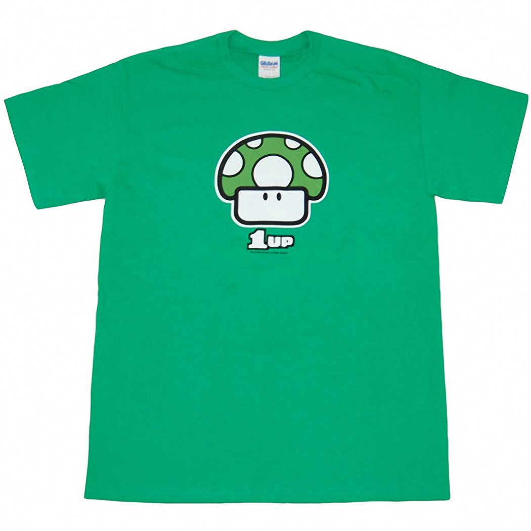 Nintendo Green Mushroom 1Up T-Shirt