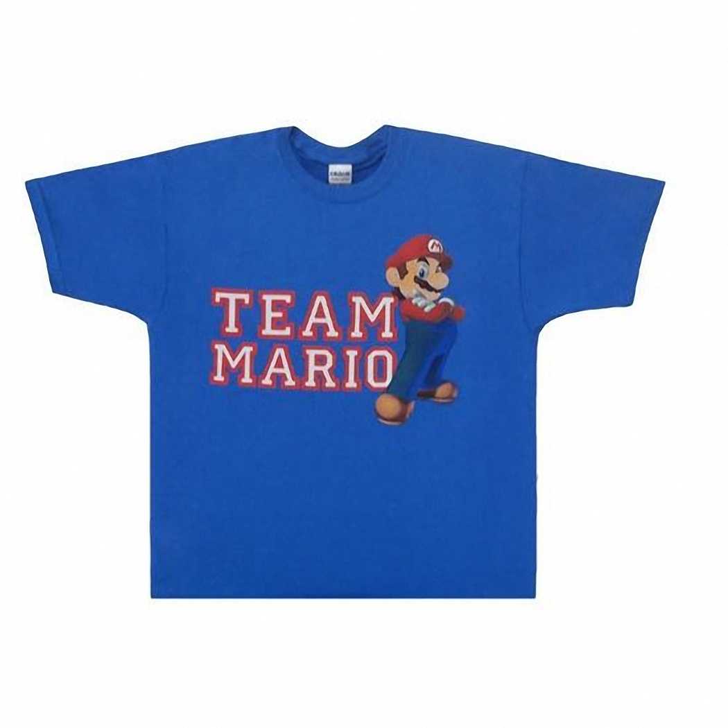 Nintendo Mario Team Adult T-Shirt