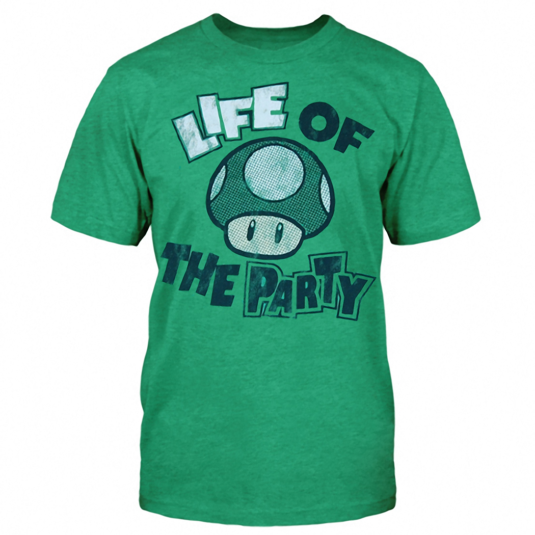 Nintendo Life Of The Party T-Shirt