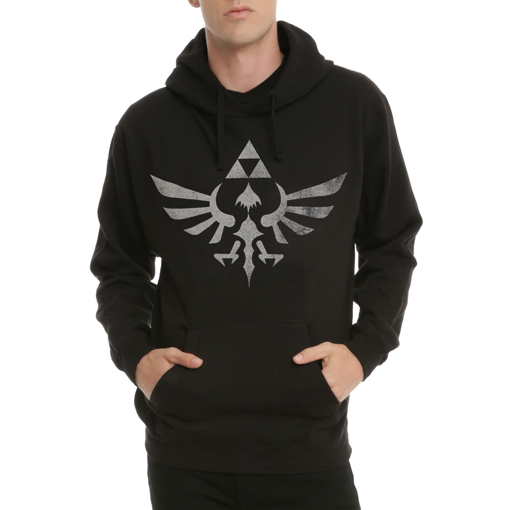 Nintendo Legend of Zelda Twilight Princess Triforce Hoodie
