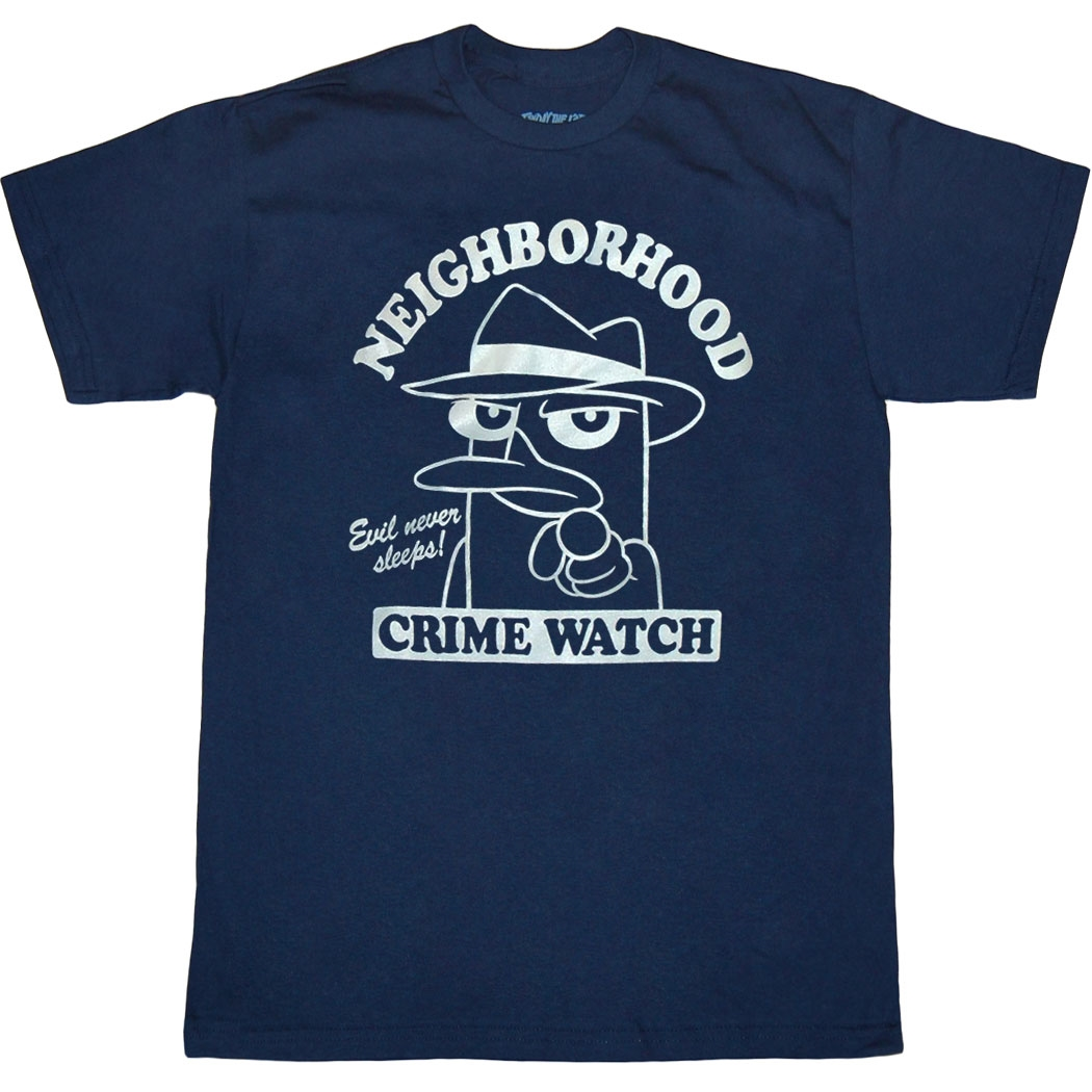 Perry Neighborhood Crime Watch T-Shirt