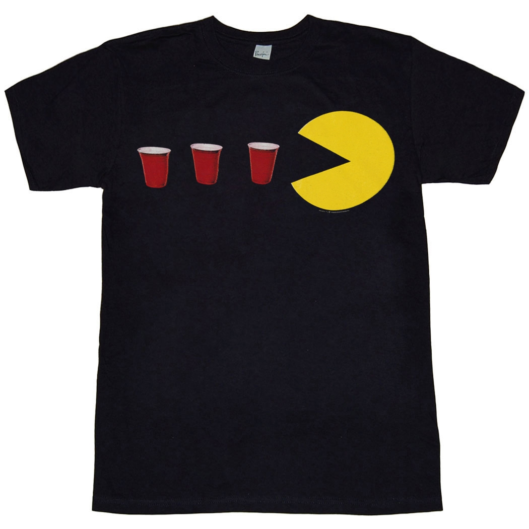 Pac-Man Red Cup Power Up T-Shirt