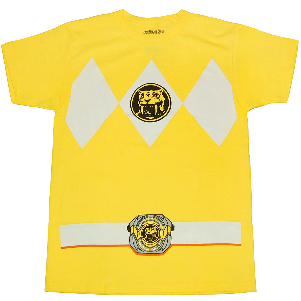 Mighty Morphin Power Rangers Yellow Ranger Costume T-Shirt