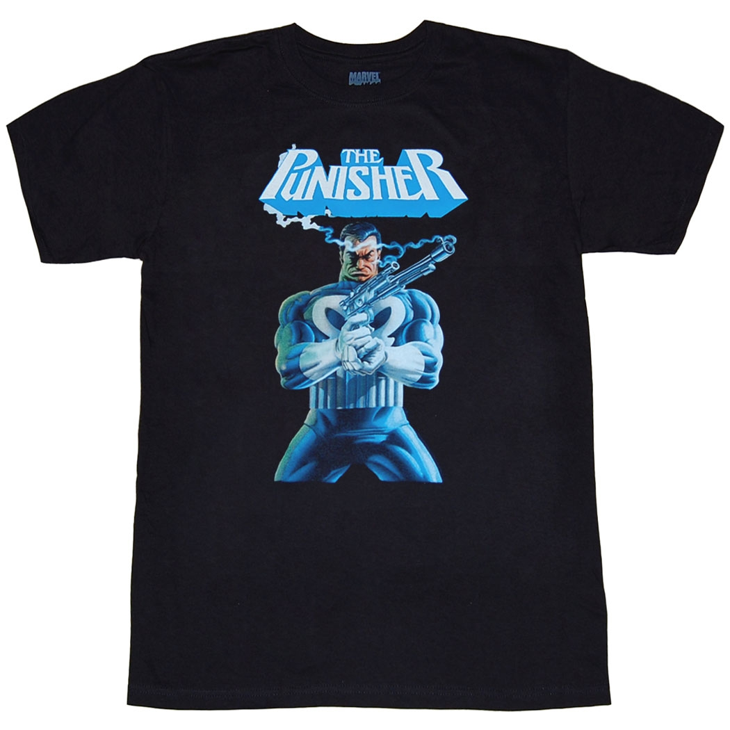 Punisher Smoking Gun T-Shirt
