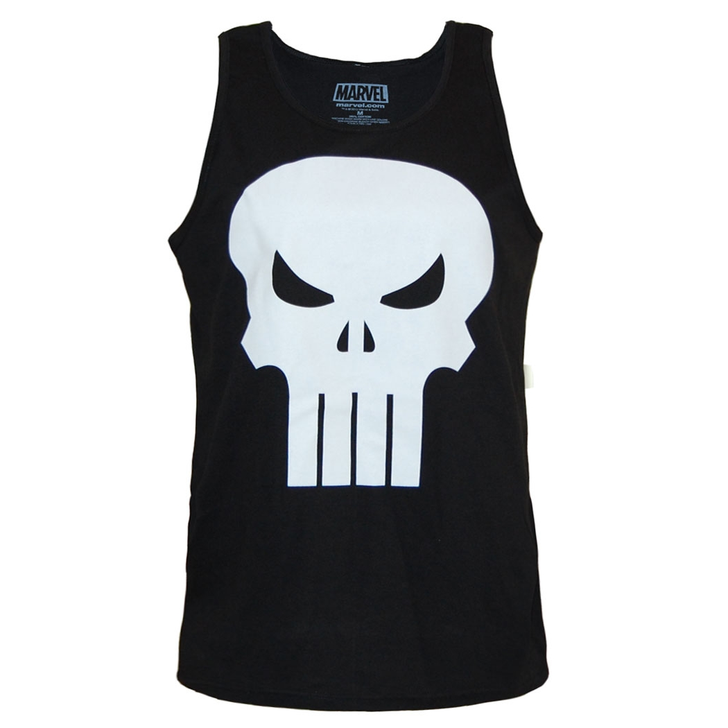 Punisher Skull Logo Tank Top
