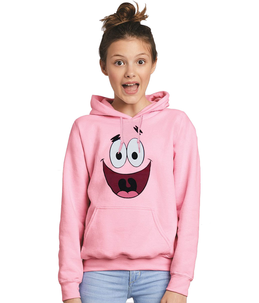 Patrick Star Face Youth Kids Hoodie