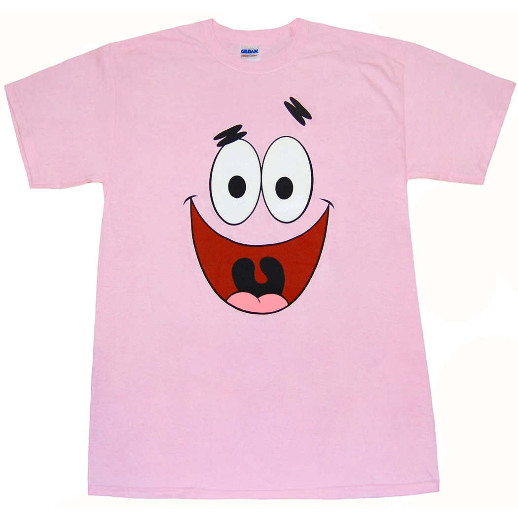 Spongebob Shirts Patrick Star Face T Shirt By Animation