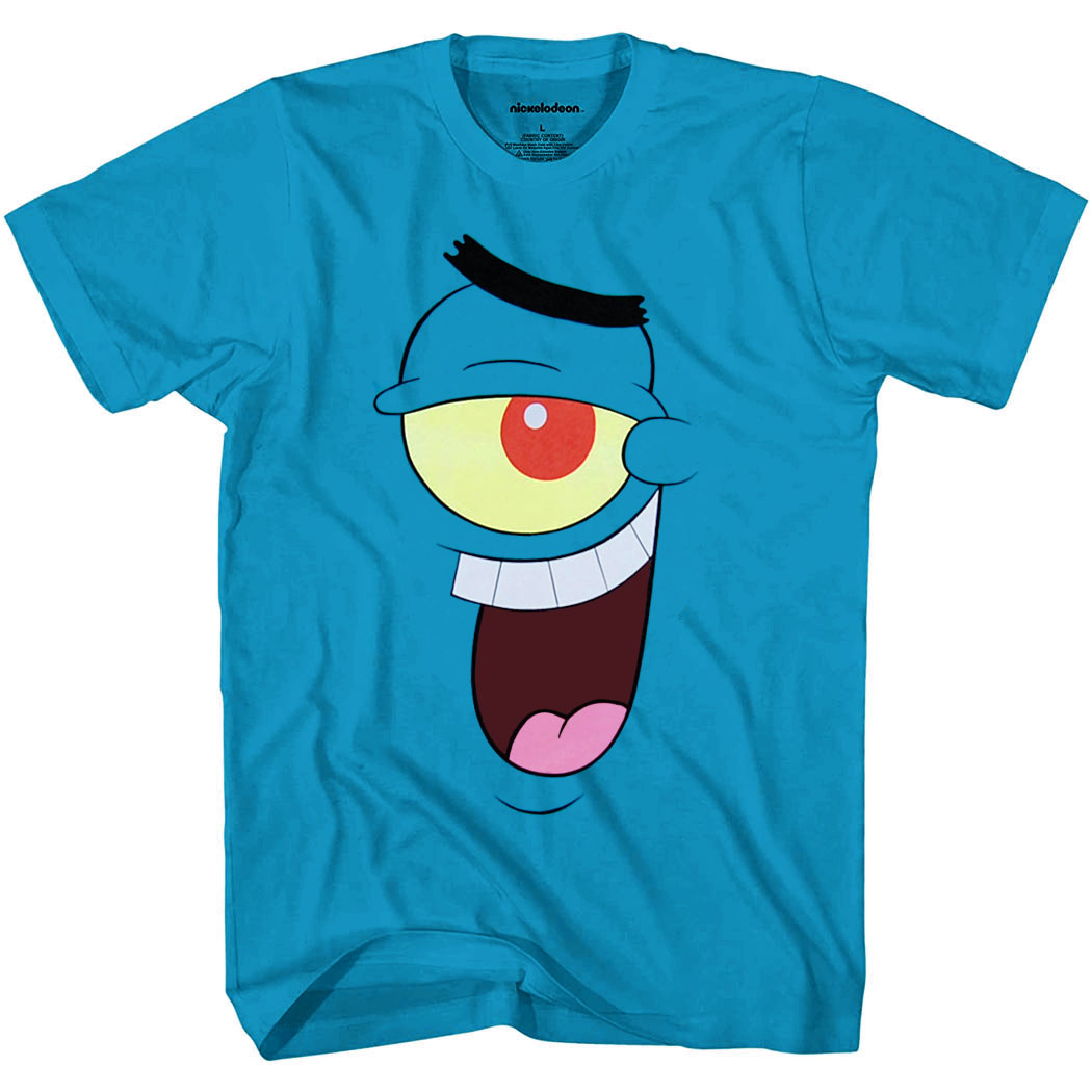 Spongebob: Plankton Big Face T-Shirt