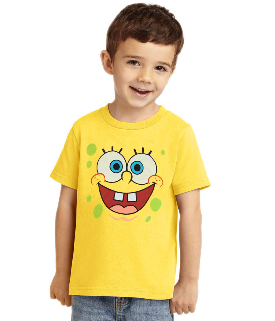SpongeBob Face Toddler T-Shirt