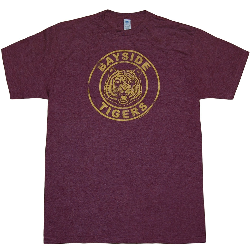Saved By The Bell Bayside Tigers T-Shirt