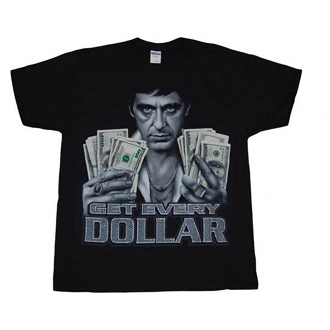 Scarface Get Every Dollar T-Shirt