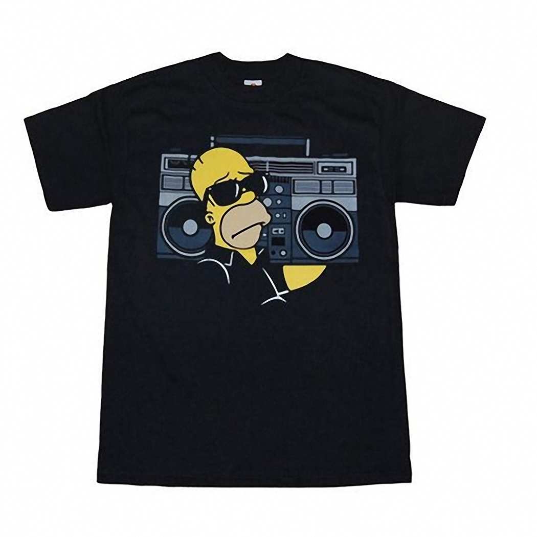 Simpsons Homer Boom Box T-Shirt