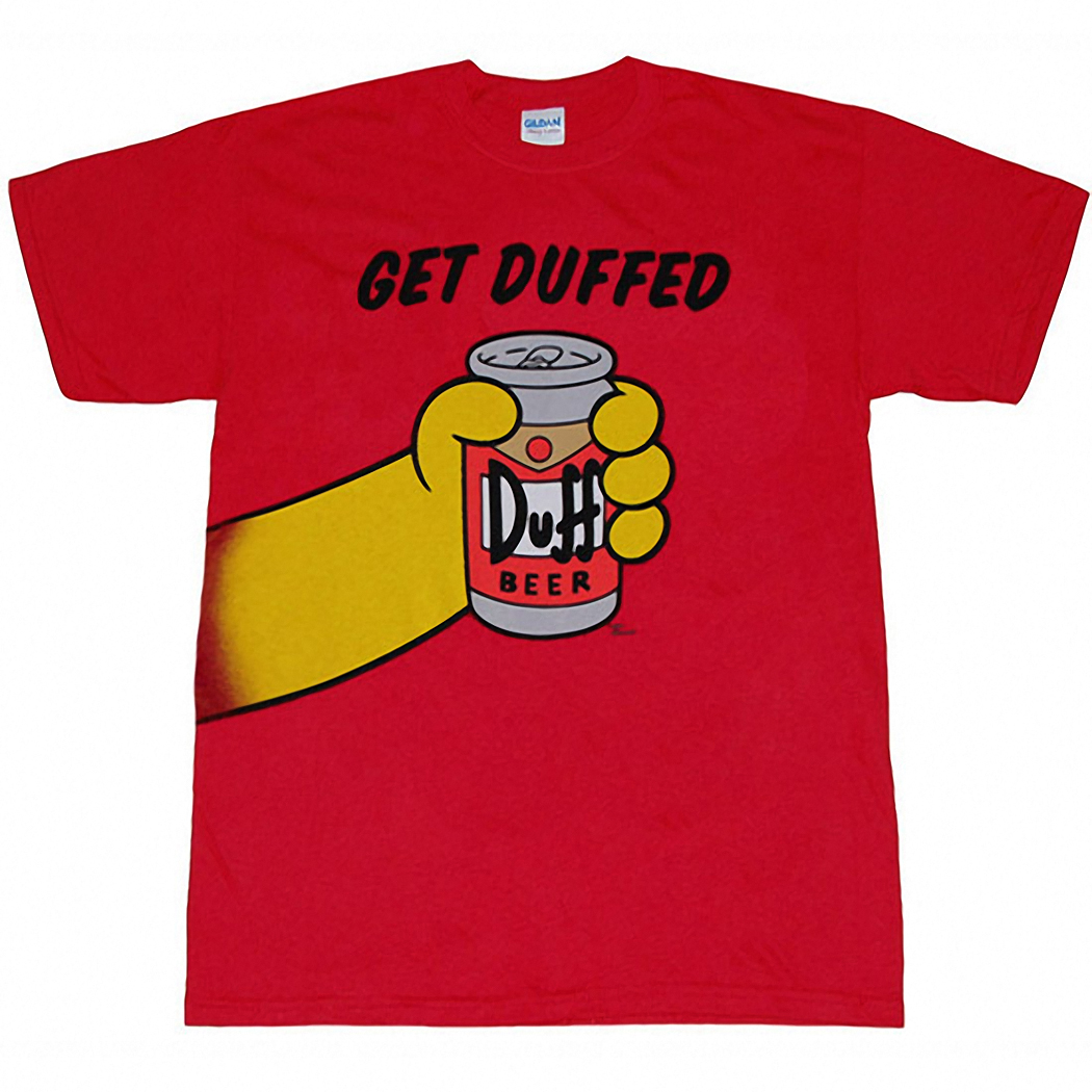 Simpsons Get Duffed T-Shirt
