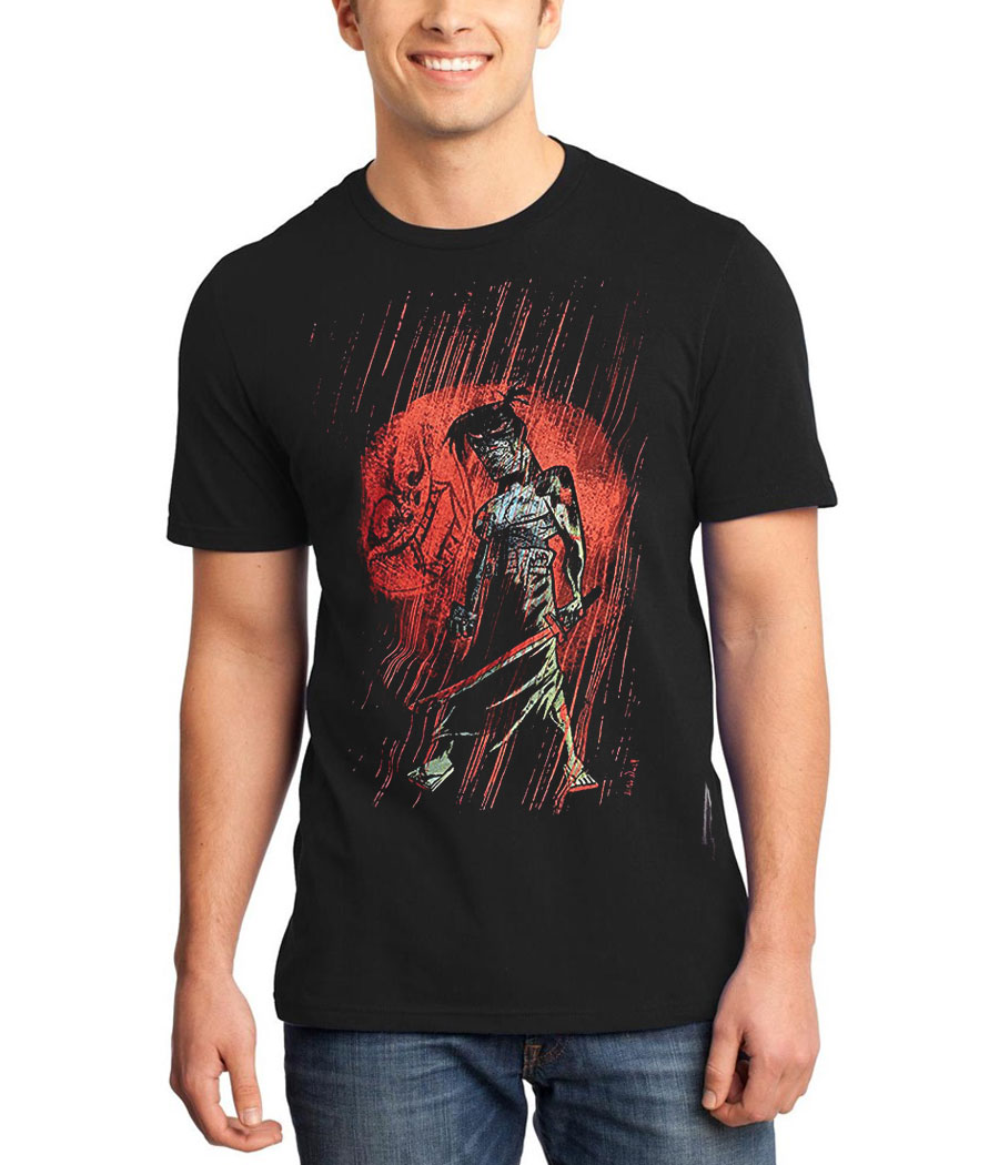 Samurai Jack Red Moon T-Shirt