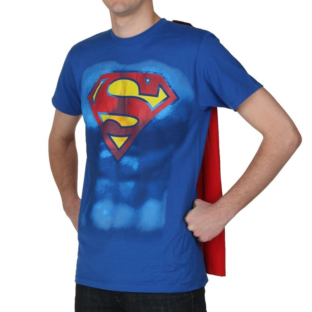 Superman Shield Cape Costume T-Shirt