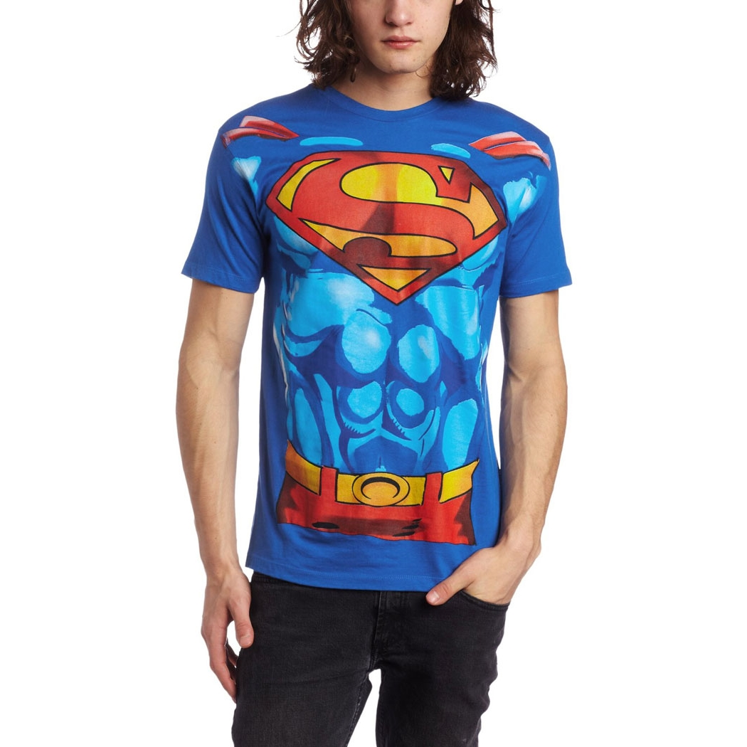 Superman Muscle Costume T-Shirt By