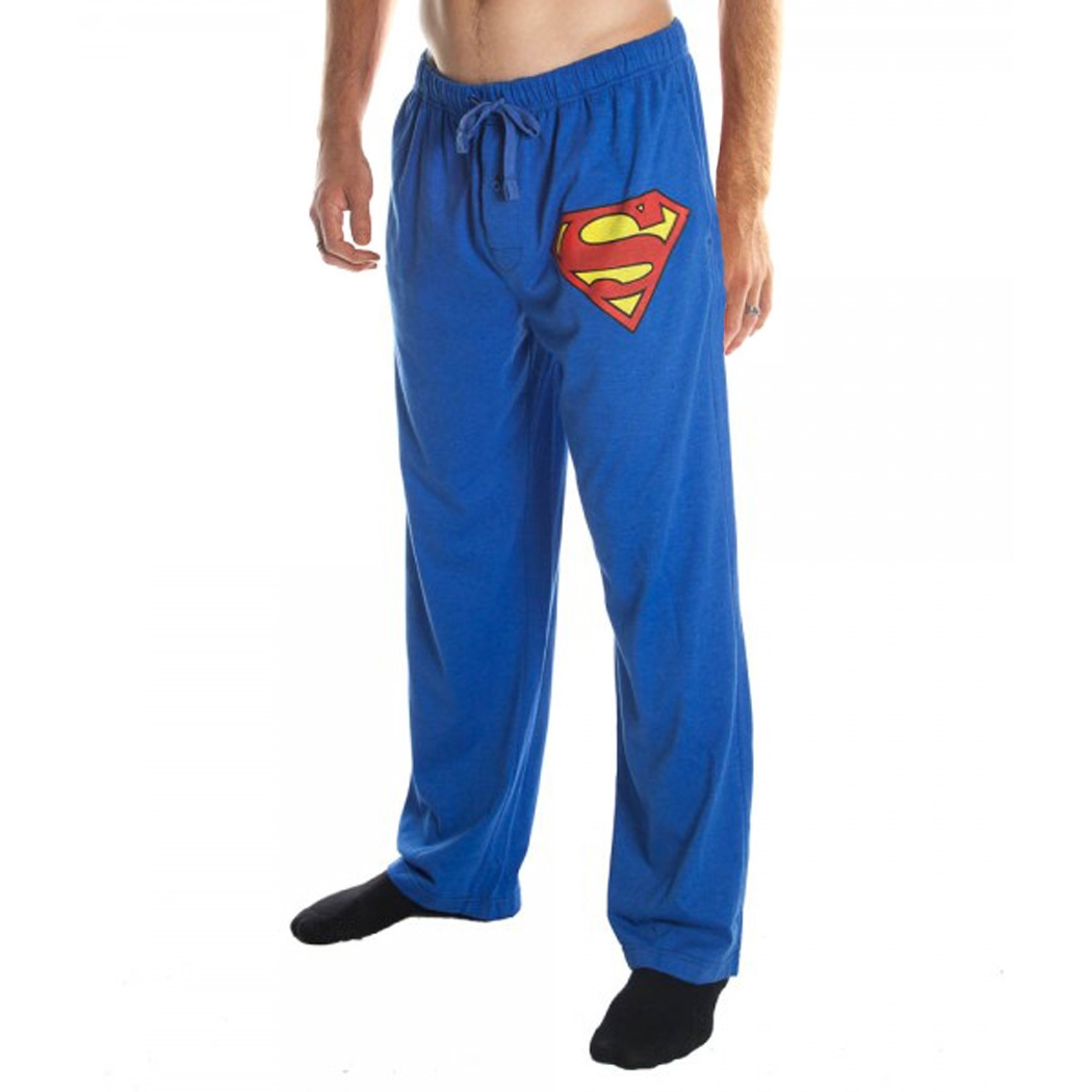 Superman Logo Pajama Lounge Pants