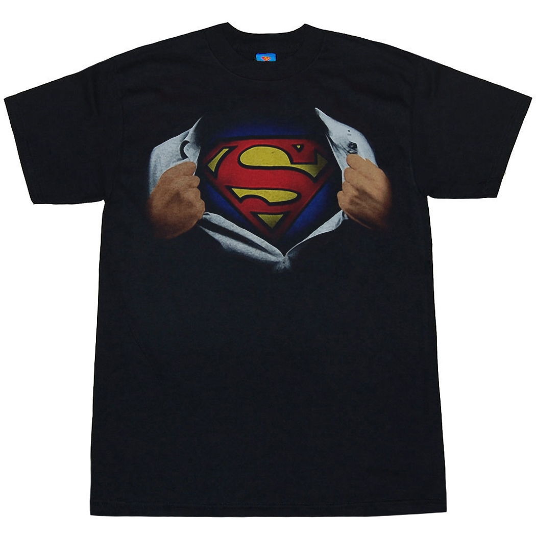 Superman Ripping Adult T-Shirt