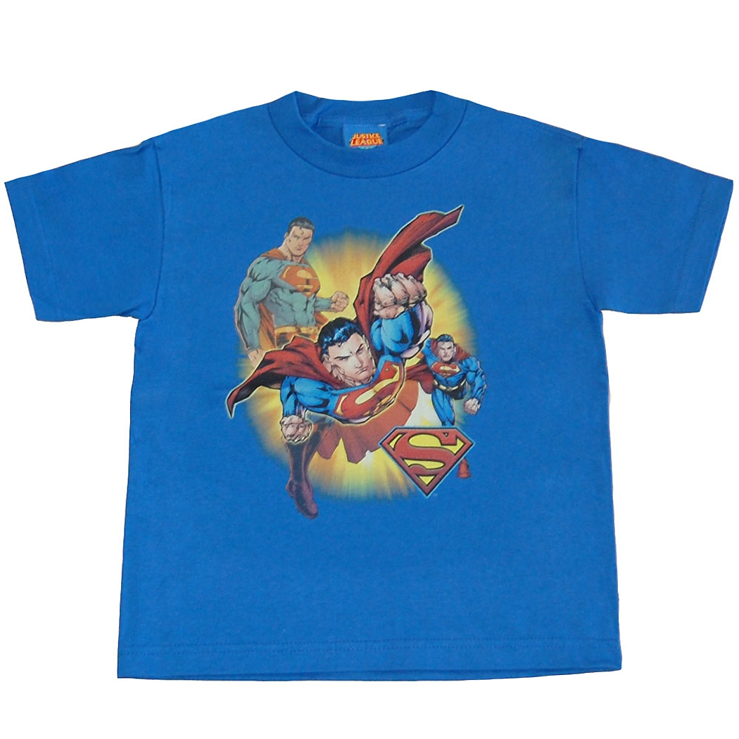 Superman Collage Juvy Kids T-Shirt