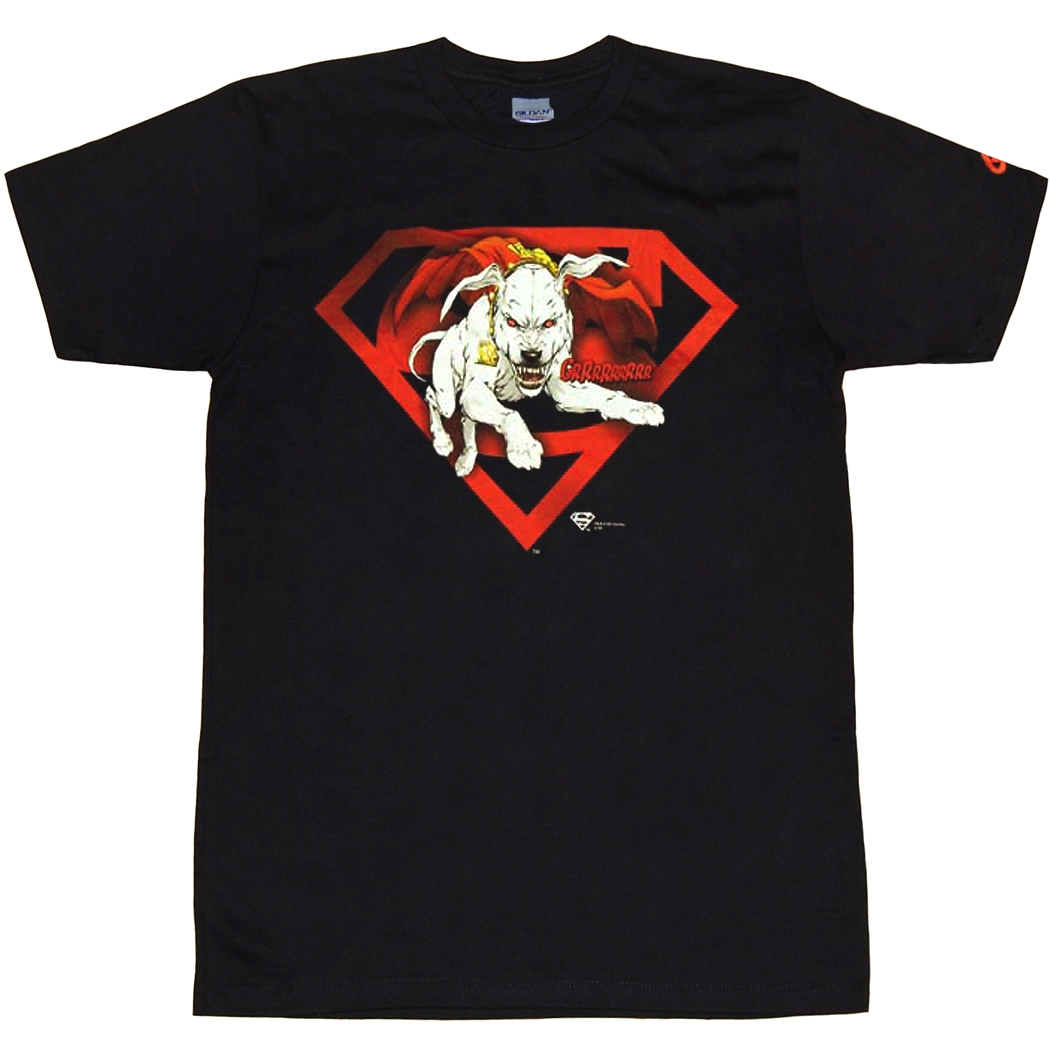 Superman Krypto Mad Dog T-Shirt