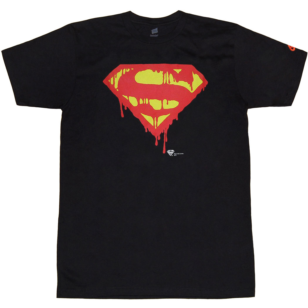 Death Of Superman Symbol T-Shirt