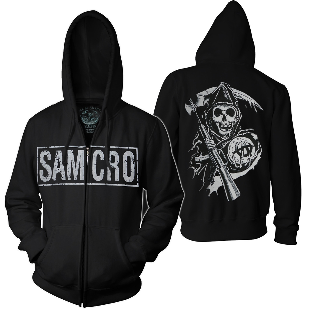 Sons of Anarchy Samcro Boxed Hoodie
