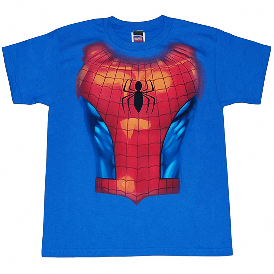 Spider-man Costume Kids T-Shirt