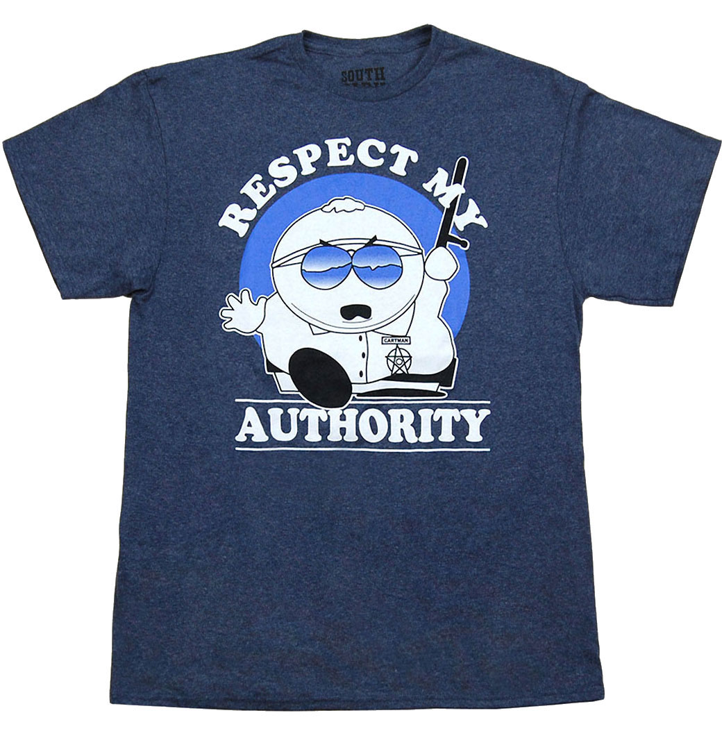 South Park Cartman Respect My Authority T-Shirt