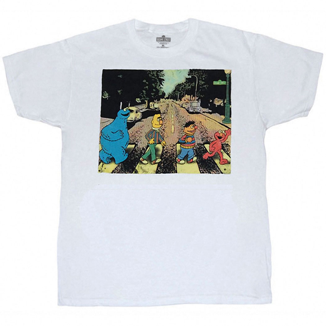 Sesame Street Abbey Road T-Shirt