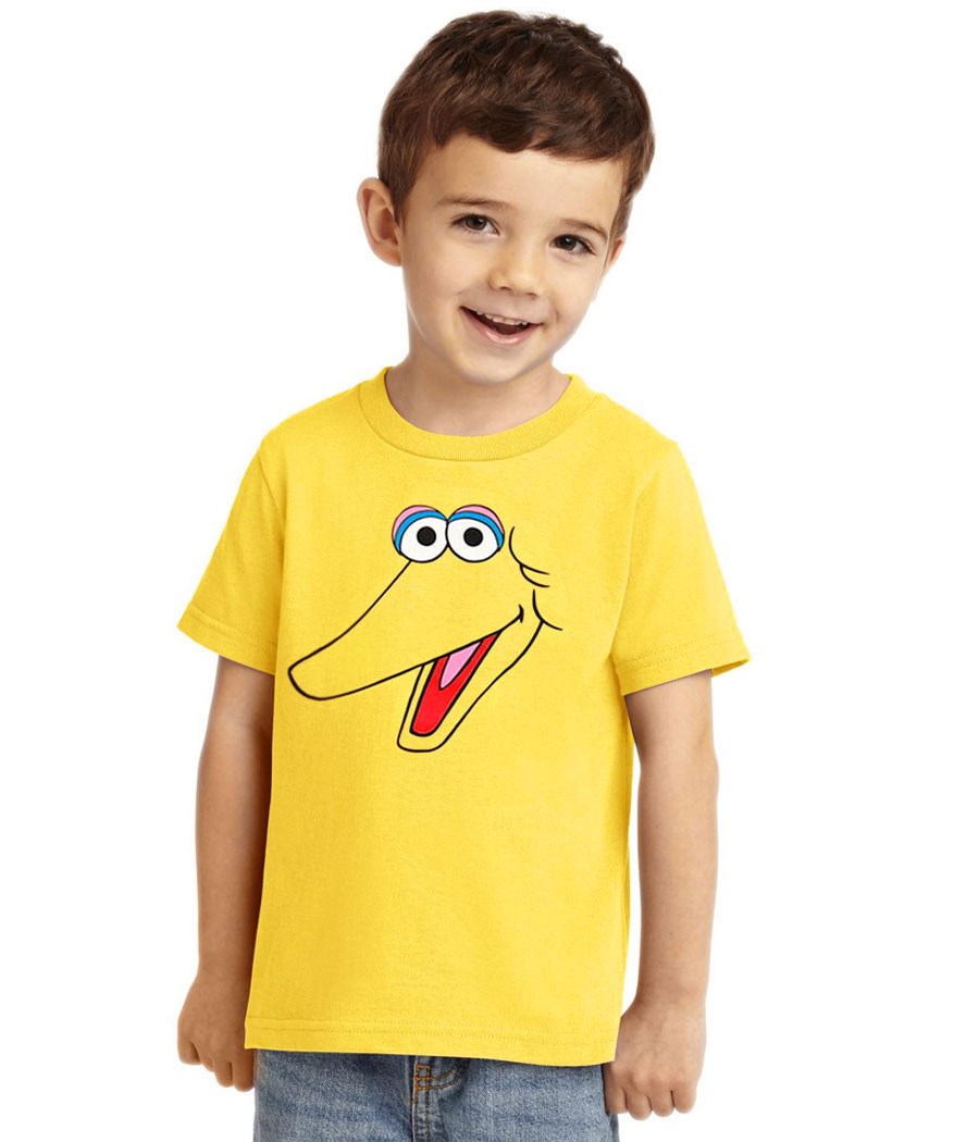 Big Bird Face Toddler T-Shirt
