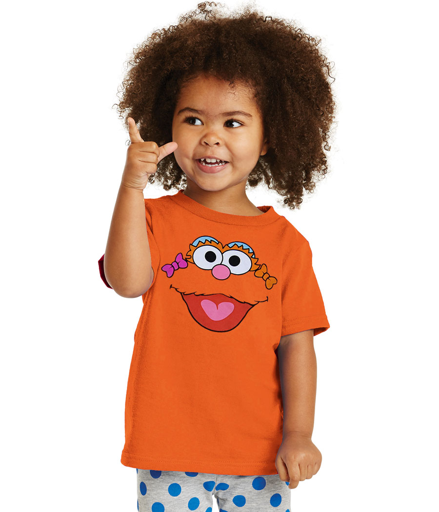 Sesame Street Zoe Face Toddler T-Shirt