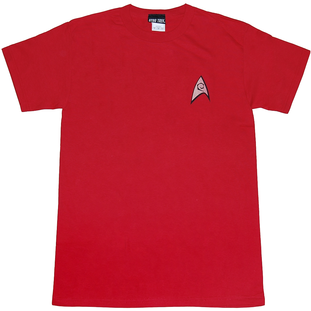Star Trek Engineering Uniform Adult T-Shirt
