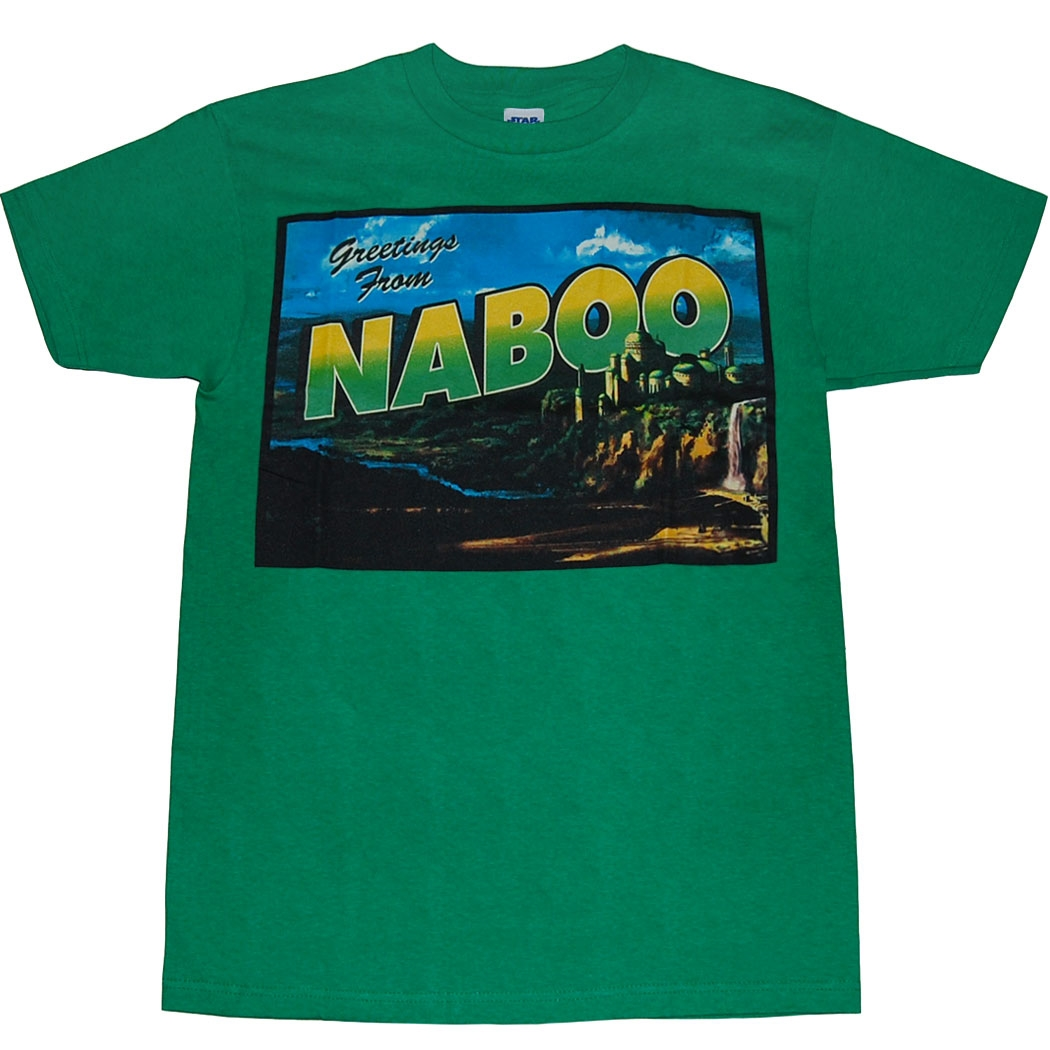 Star Wars Greetings From Naboo T-Shirt