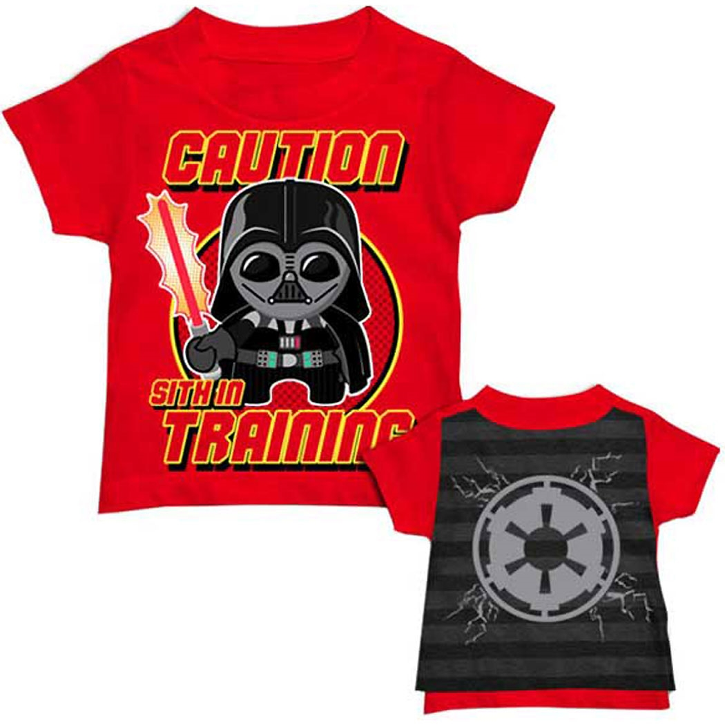 Star Wars Sith Lord In Training Cape Toddler T-Shirt