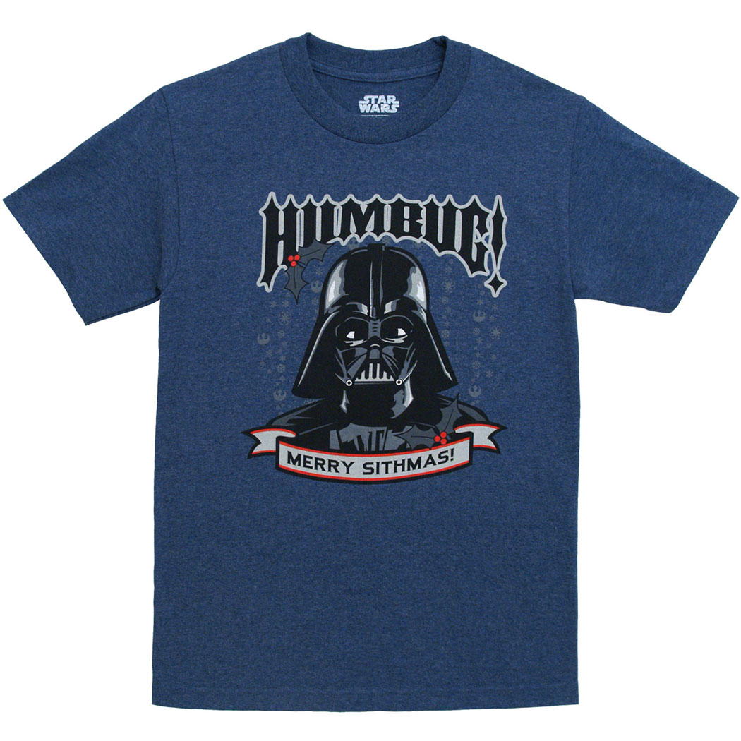 Star Wars Darth Vader Merry Sithmas T-Shirt